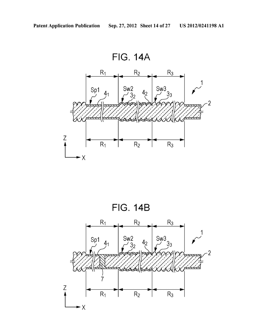 CONDUCTIVE ELEMENT AND METHOD FOR PRODUCING THE SAME, WIRING ELEMENT,     INFORMATION INPUT DEVICE, DISPLAY DEVICE, ELECTRONIC APPARATUS, AND     MASTER - diagram, schematic, and image 15