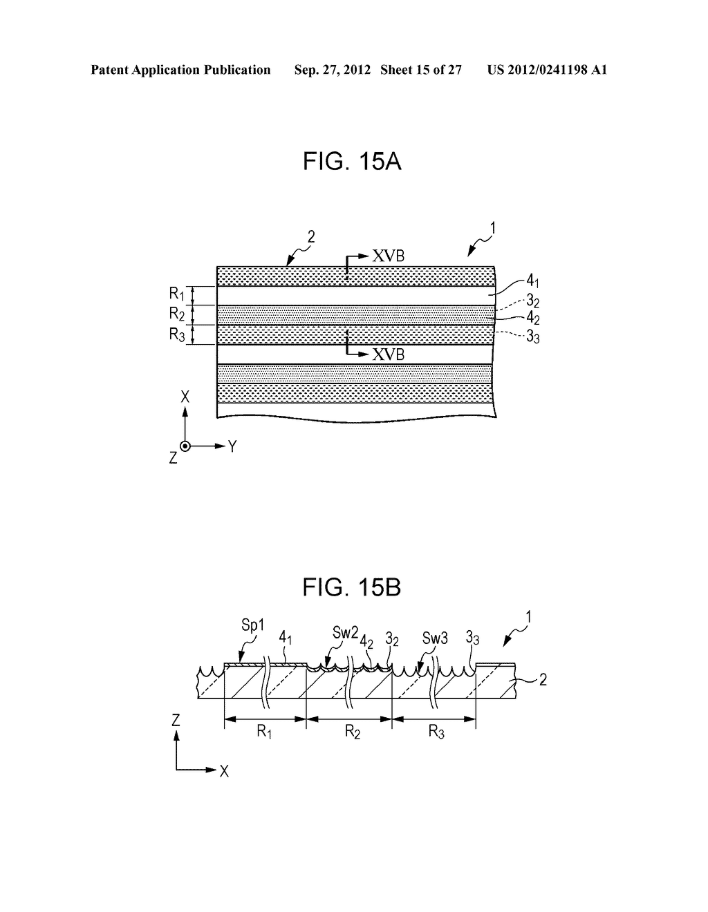 CONDUCTIVE ELEMENT AND METHOD FOR PRODUCING THE SAME, WIRING ELEMENT,     INFORMATION INPUT DEVICE, DISPLAY DEVICE, ELECTRONIC APPARATUS, AND     MASTER - diagram, schematic, and image 16