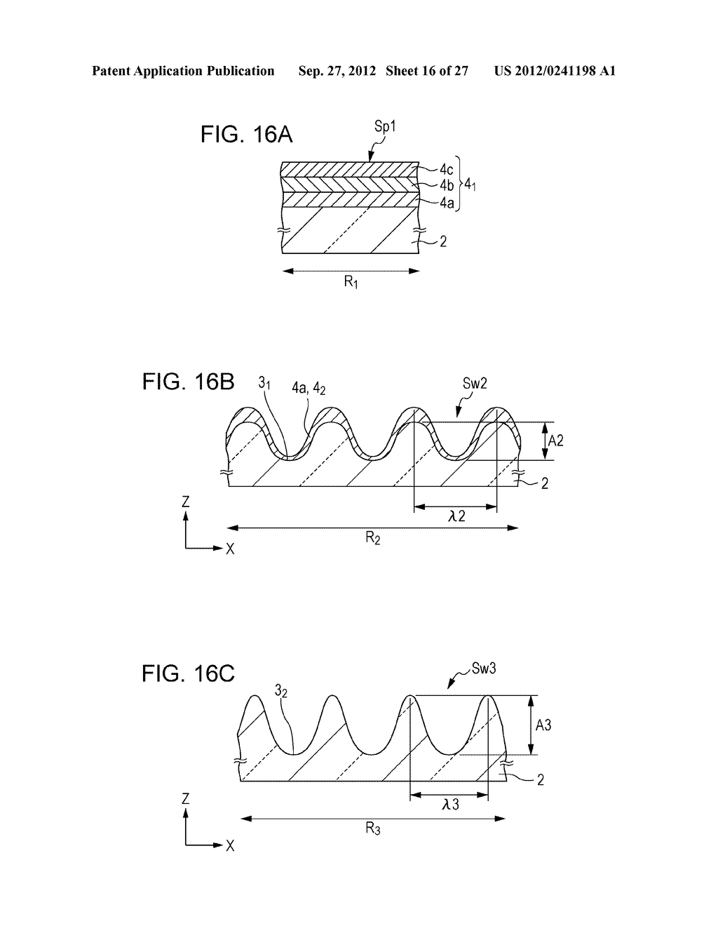 CONDUCTIVE ELEMENT AND METHOD FOR PRODUCING THE SAME, WIRING ELEMENT,     INFORMATION INPUT DEVICE, DISPLAY DEVICE, ELECTRONIC APPARATUS, AND     MASTER - diagram, schematic, and image 17