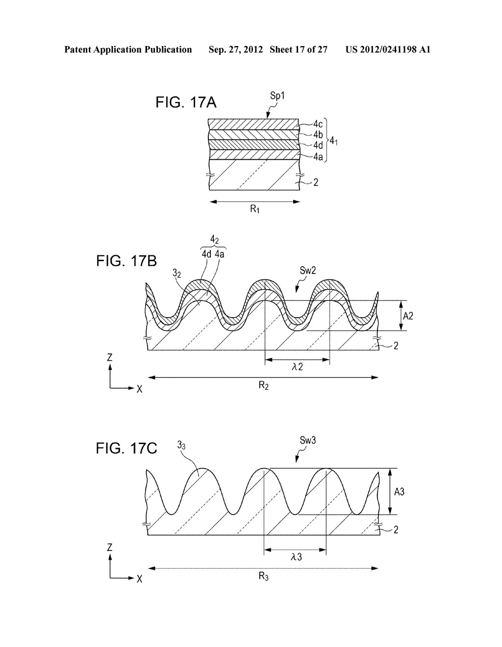 CONDUCTIVE ELEMENT AND METHOD FOR PRODUCING THE SAME, WIRING ELEMENT,     INFORMATION INPUT DEVICE, DISPLAY DEVICE, ELECTRONIC APPARATUS, AND     MASTER - diagram, schematic, and image 18