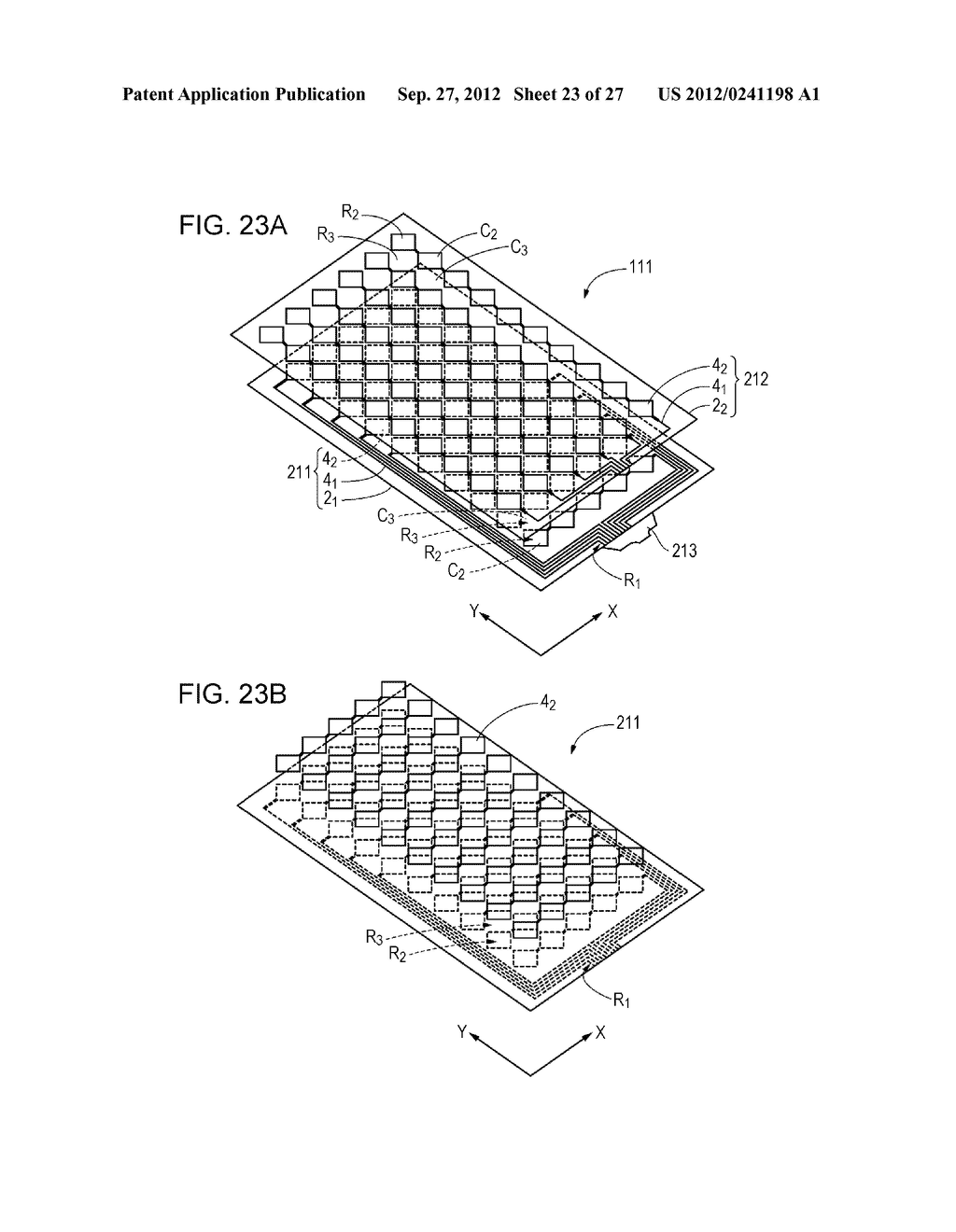 CONDUCTIVE ELEMENT AND METHOD FOR PRODUCING THE SAME, WIRING ELEMENT,     INFORMATION INPUT DEVICE, DISPLAY DEVICE, ELECTRONIC APPARATUS, AND     MASTER - diagram, schematic, and image 24