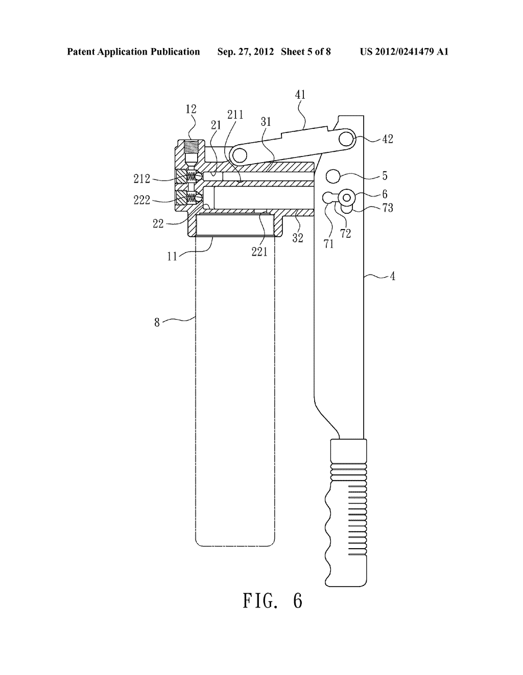 oil flow control structure for grease gun diagram, schematic, andoil flow control structure for grease gun diagram, schematic, and image 06