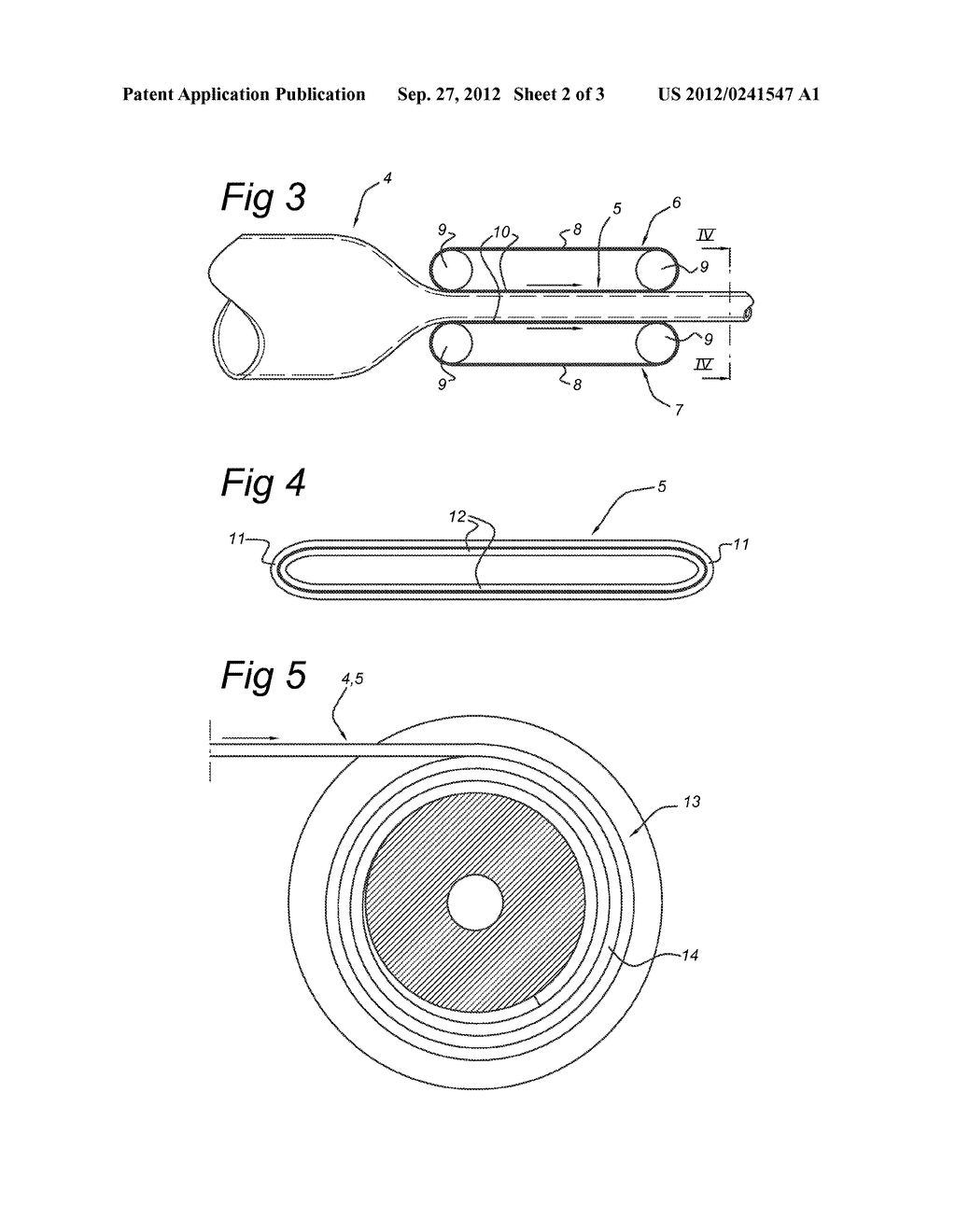 METHOD FOR HANDLING A FIBER REINFORCED PLASTIC TUBE, AND COMBINATION OF     SUCH TUBE WOUND ON A REEL - diagram, schematic, and image 03