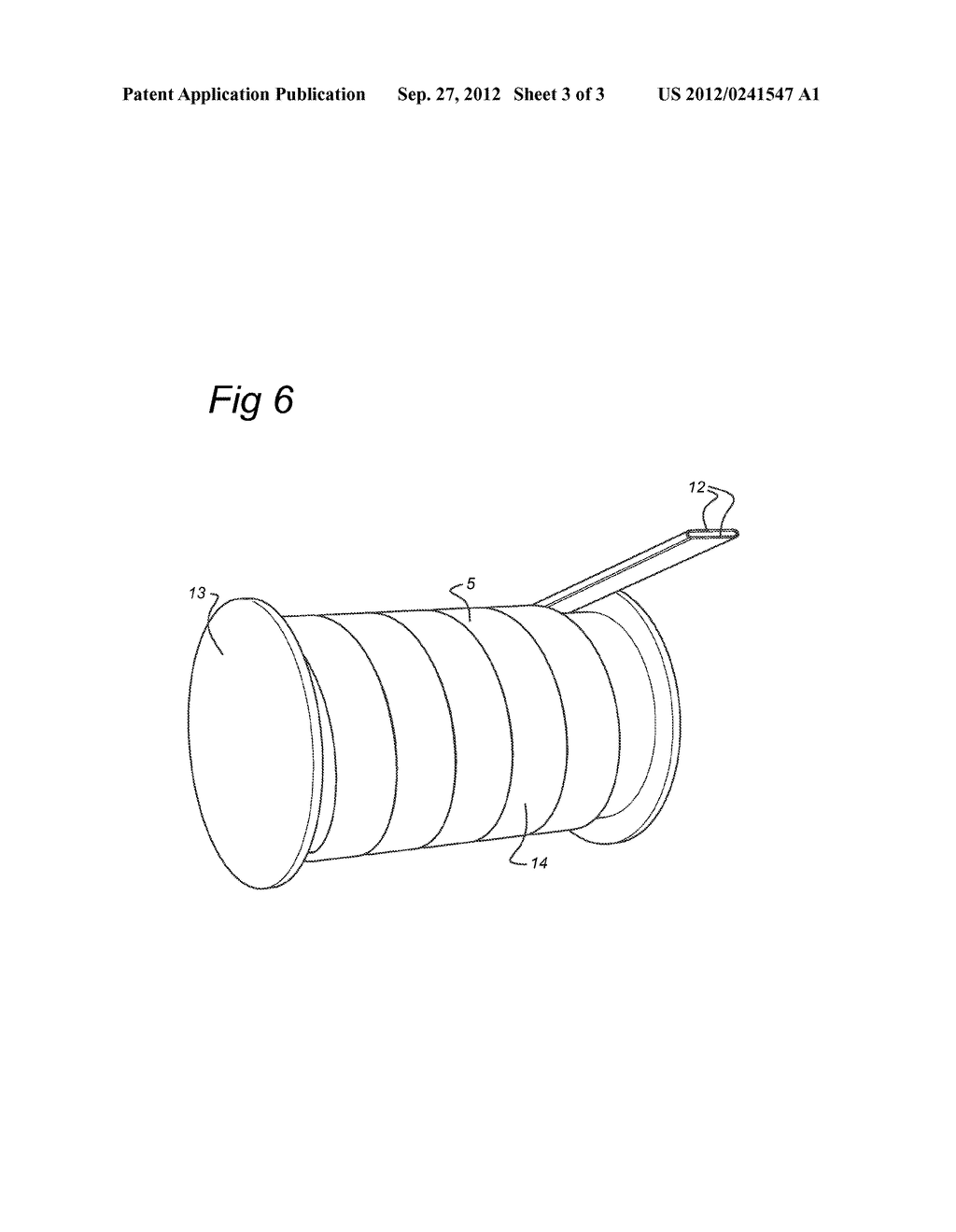 METHOD FOR HANDLING A FIBER REINFORCED PLASTIC TUBE, AND COMBINATION OF     SUCH TUBE WOUND ON A REEL - diagram, schematic, and image 04