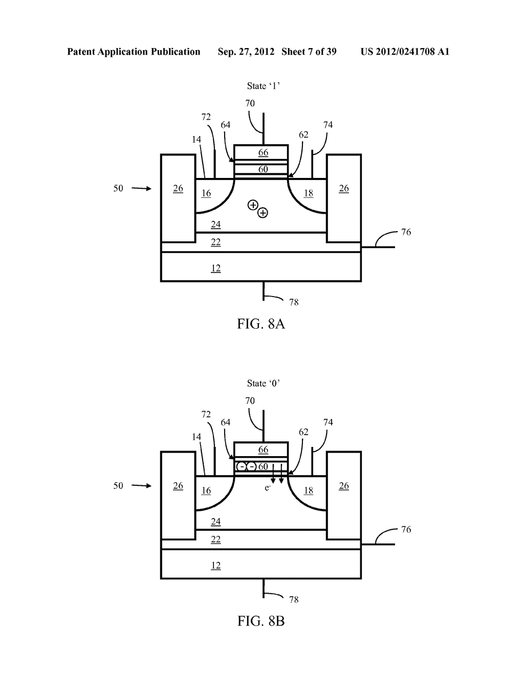 Memory Cells, Memory Cell Arrays, Methods of Using and Methods of Making - diagram, schematic, and image 08
