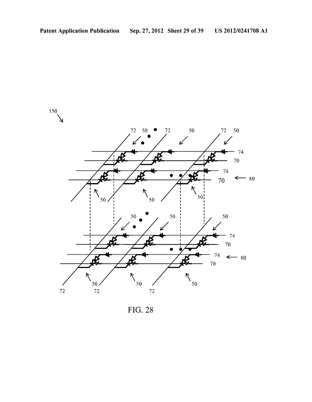 Memory Cells, Memory Cell Arrays, Methods of Using and Methods of Making - diagram, schematic, and image 30