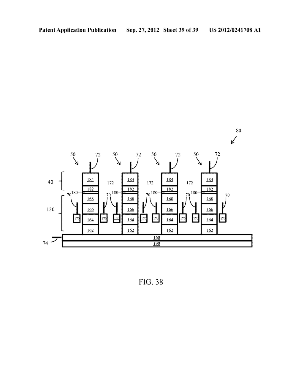 Memory Cells, Memory Cell Arrays, Methods of Using and Methods of Making - diagram, schematic, and image 40