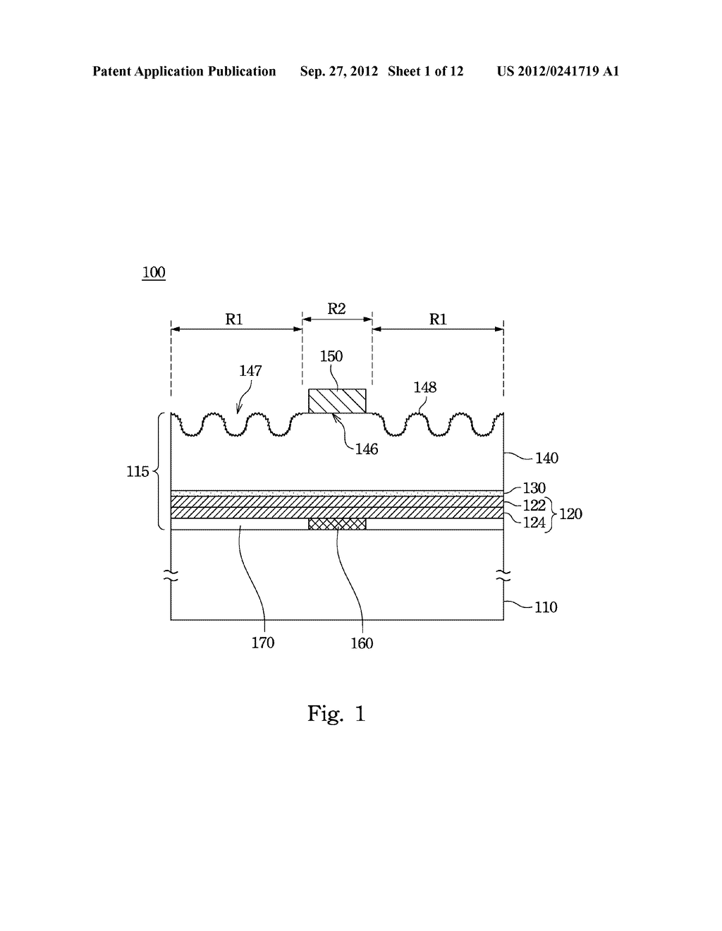 Light Emitting Diode and Method for Manufacturing the Same - diagram, schematic, and image 02