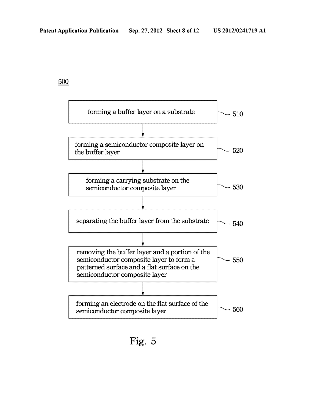 Light Emitting Diode and Method for Manufacturing the Same - diagram, schematic, and image 09