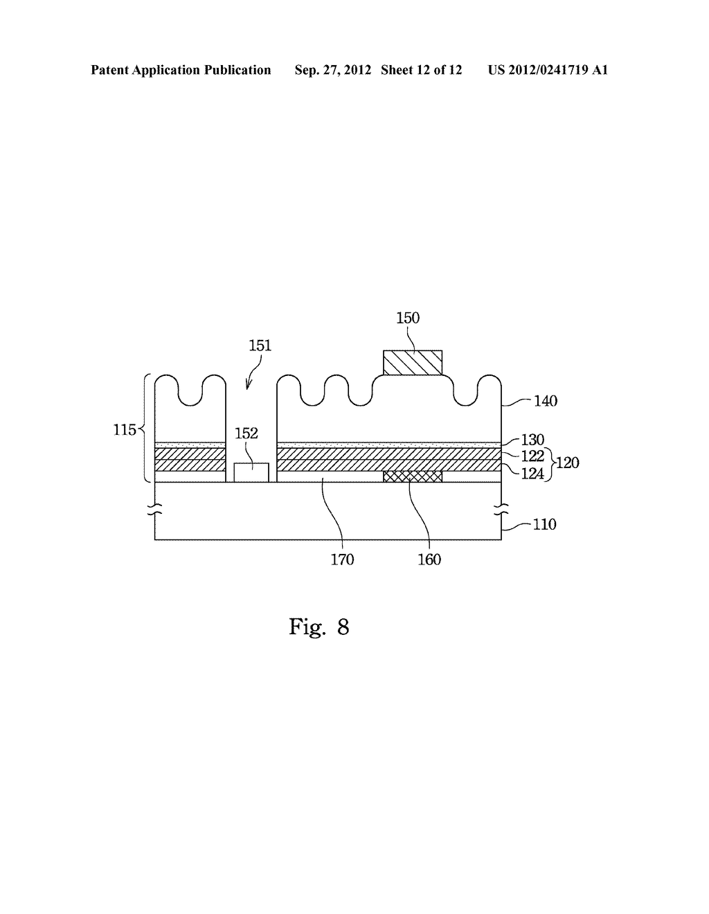 Light Emitting Diode and Method for Manufacturing the Same - diagram, schematic, and image 13