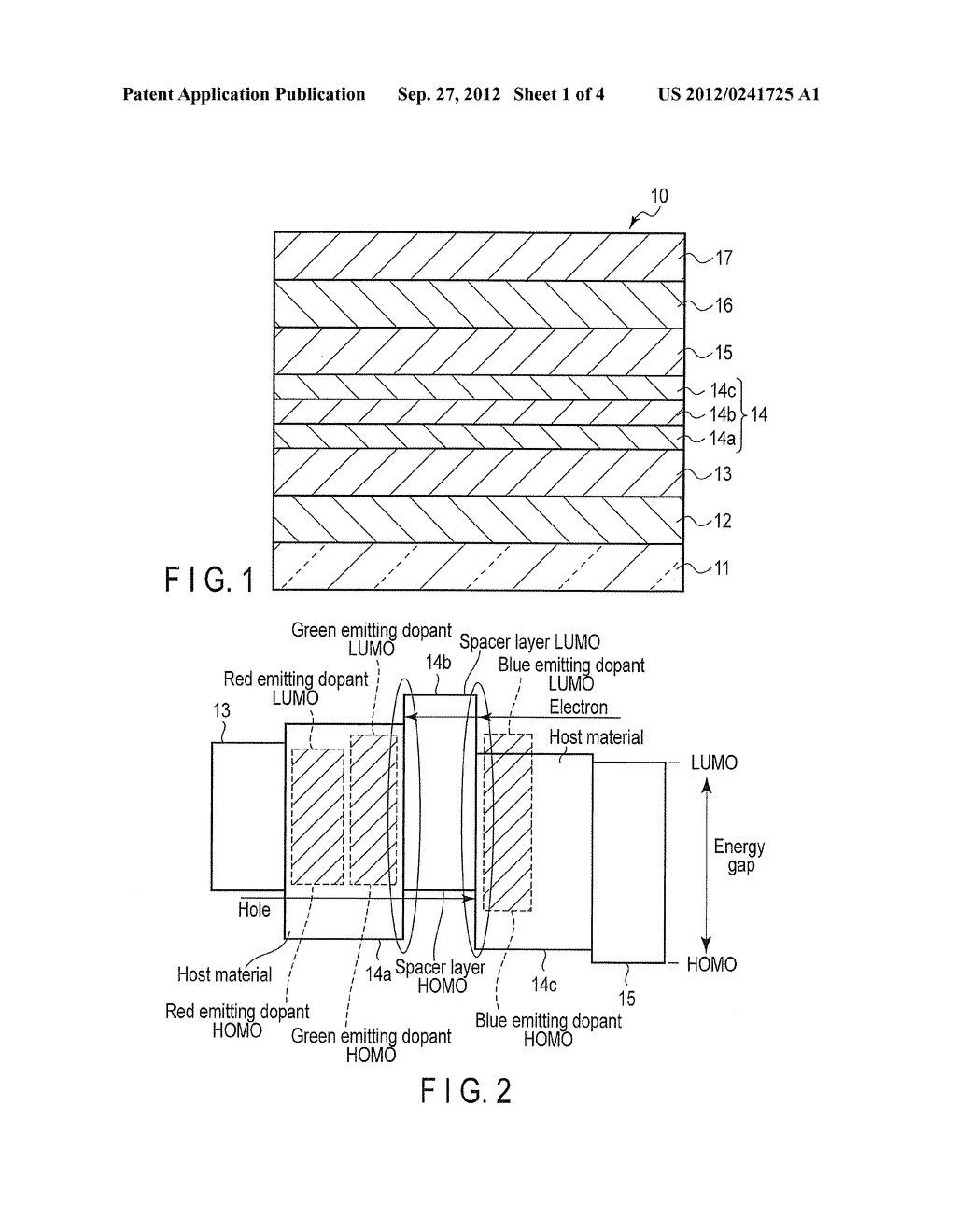 ORGANIC LIGHT-EMITTING DIODE, DISPLAY AND ILLUMINATING DEVICE - diagram, schematic, and image 02