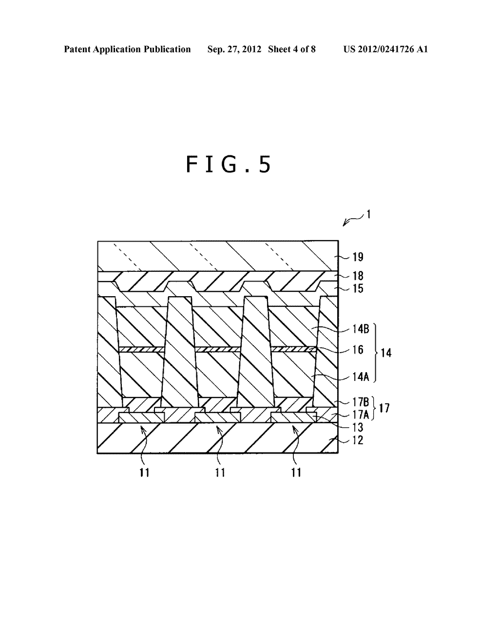 DISPLAY ELEMENT, DISPLAY DEVICE, AND ELECTRONIC APPARATUS - diagram, schematic, and image 05