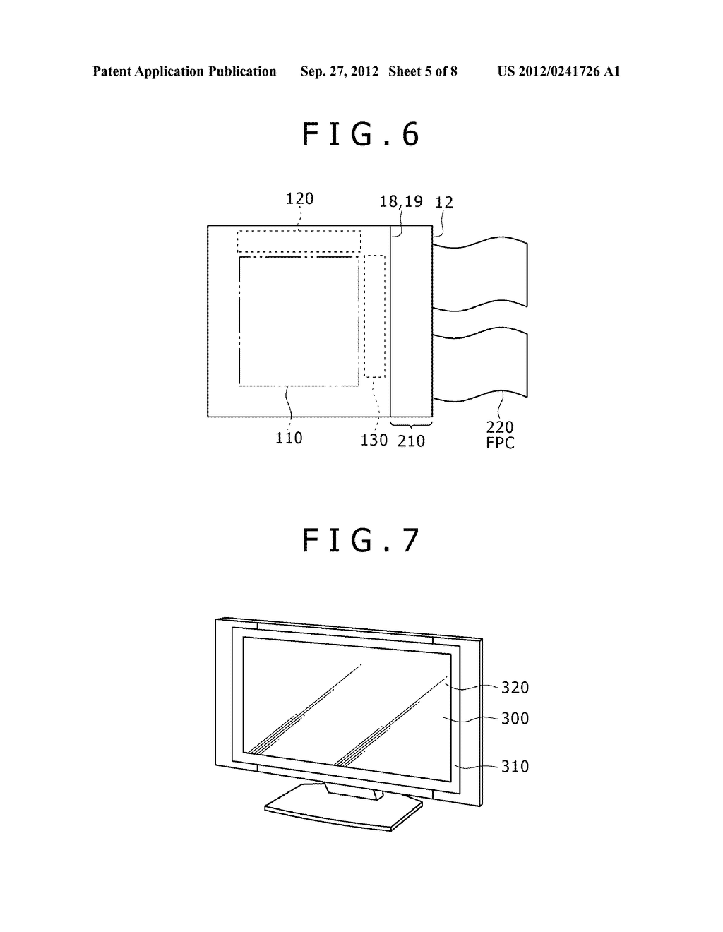 DISPLAY ELEMENT, DISPLAY DEVICE, AND ELECTRONIC APPARATUS - diagram, schematic, and image 06