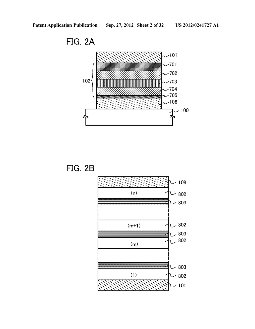 COMPOSITE MATERIAL, LIGHT-EMITTING ELEMENT, LIGHT-EMITTING DEVICE,     ELECTRONIC DEVICE, AND LIGHTING DEVICE - diagram, schematic, and image 03
