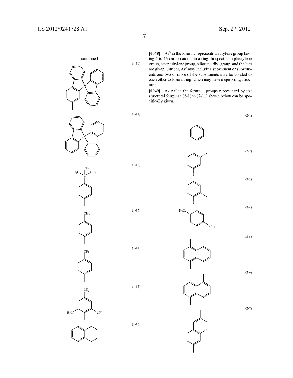 Anthracene Derivative, Light-Emitting Material, Material for     Light-Emitting Element, Composition for Coating, Light-Emitting Element,     Light-Emitting Device, and Electronic Device - diagram, schematic, and image 29