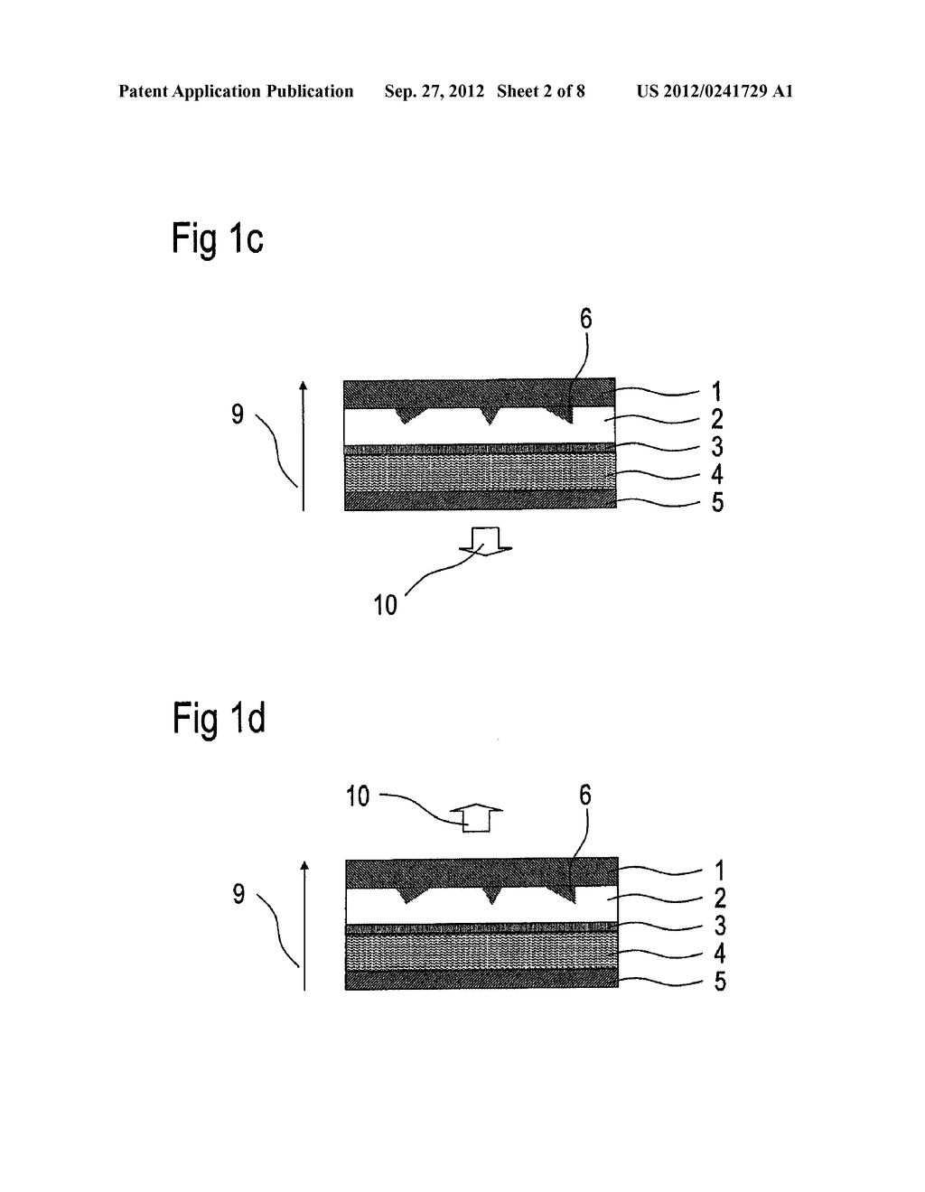 Optoelectronic Organic Component and Method for the Production Thereof - diagram, schematic, and image 03