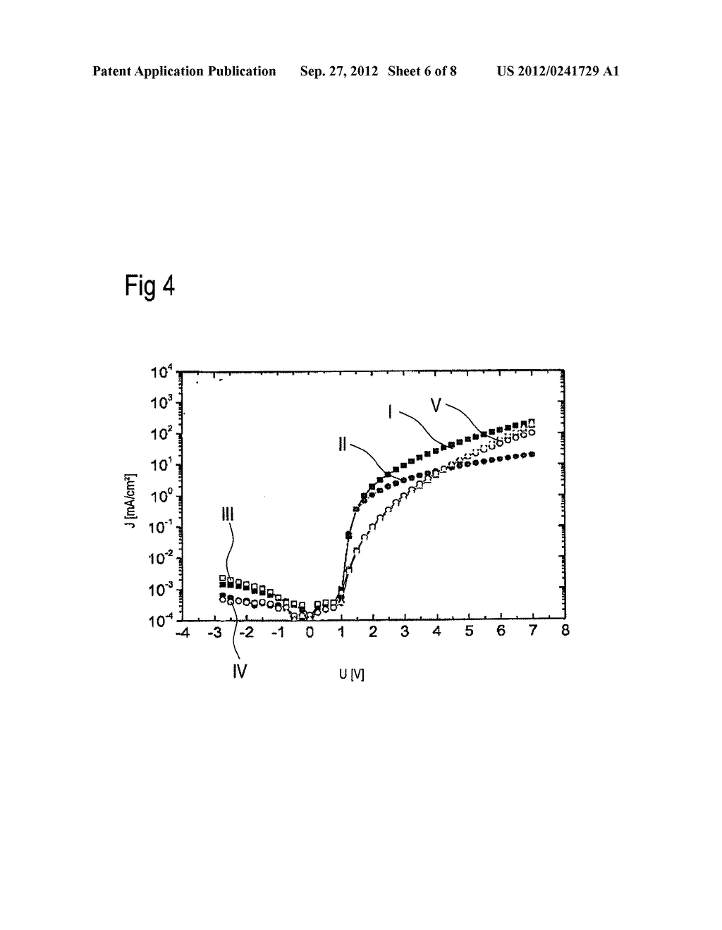 Optoelectronic Organic Component and Method for the Production Thereof - diagram, schematic, and image 07