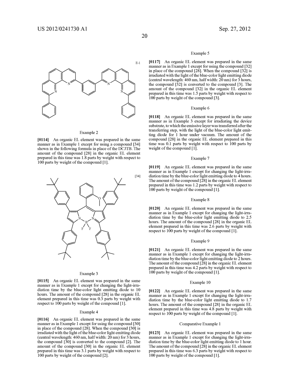 ORGANIC EL ELEMENT AND METHOD FOR MANUFACTURING ORGANIC EL ELEMENT - diagram, schematic, and image 23