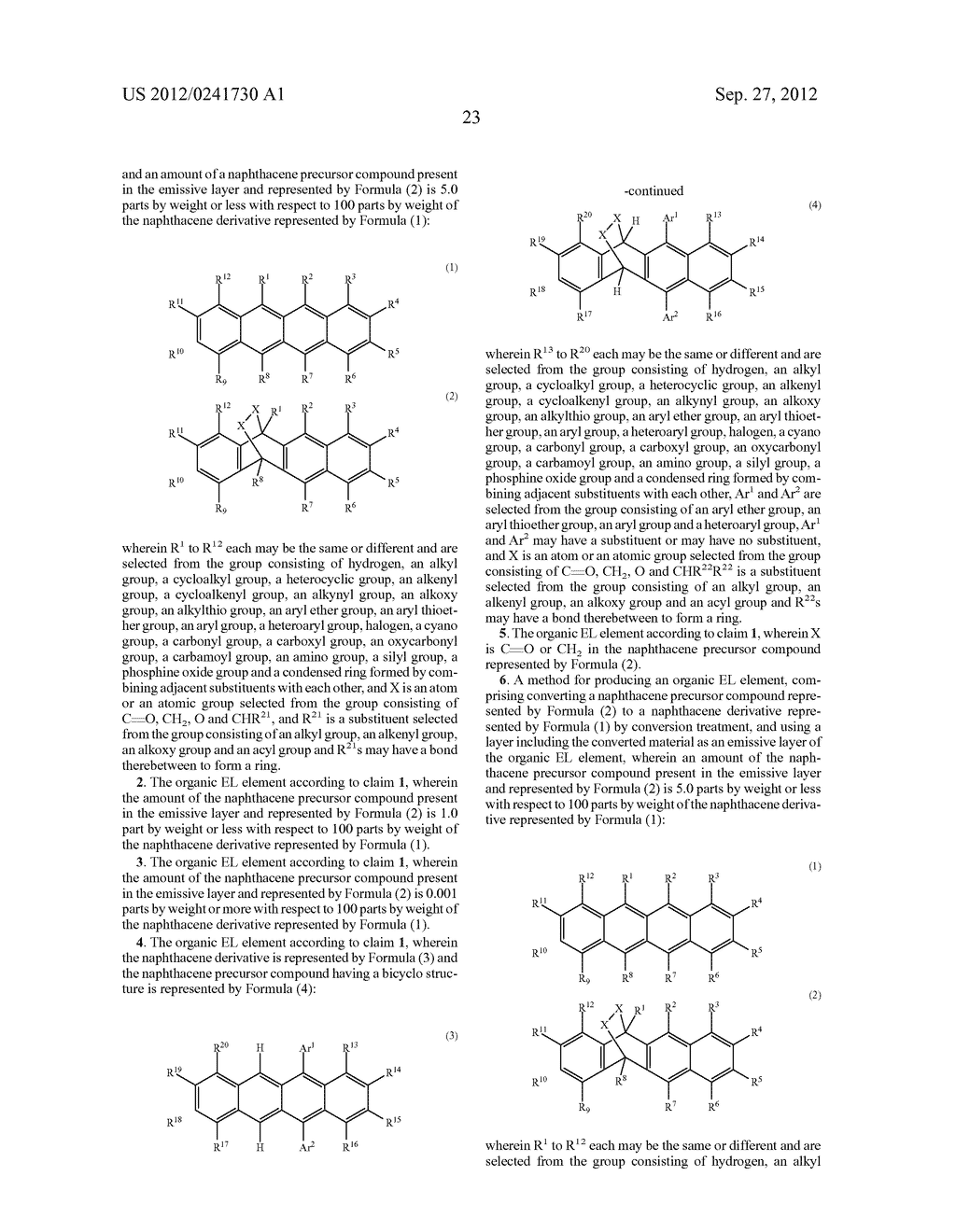 ORGANIC EL ELEMENT AND METHOD FOR MANUFACTURING ORGANIC EL ELEMENT - diagram, schematic, and image 26