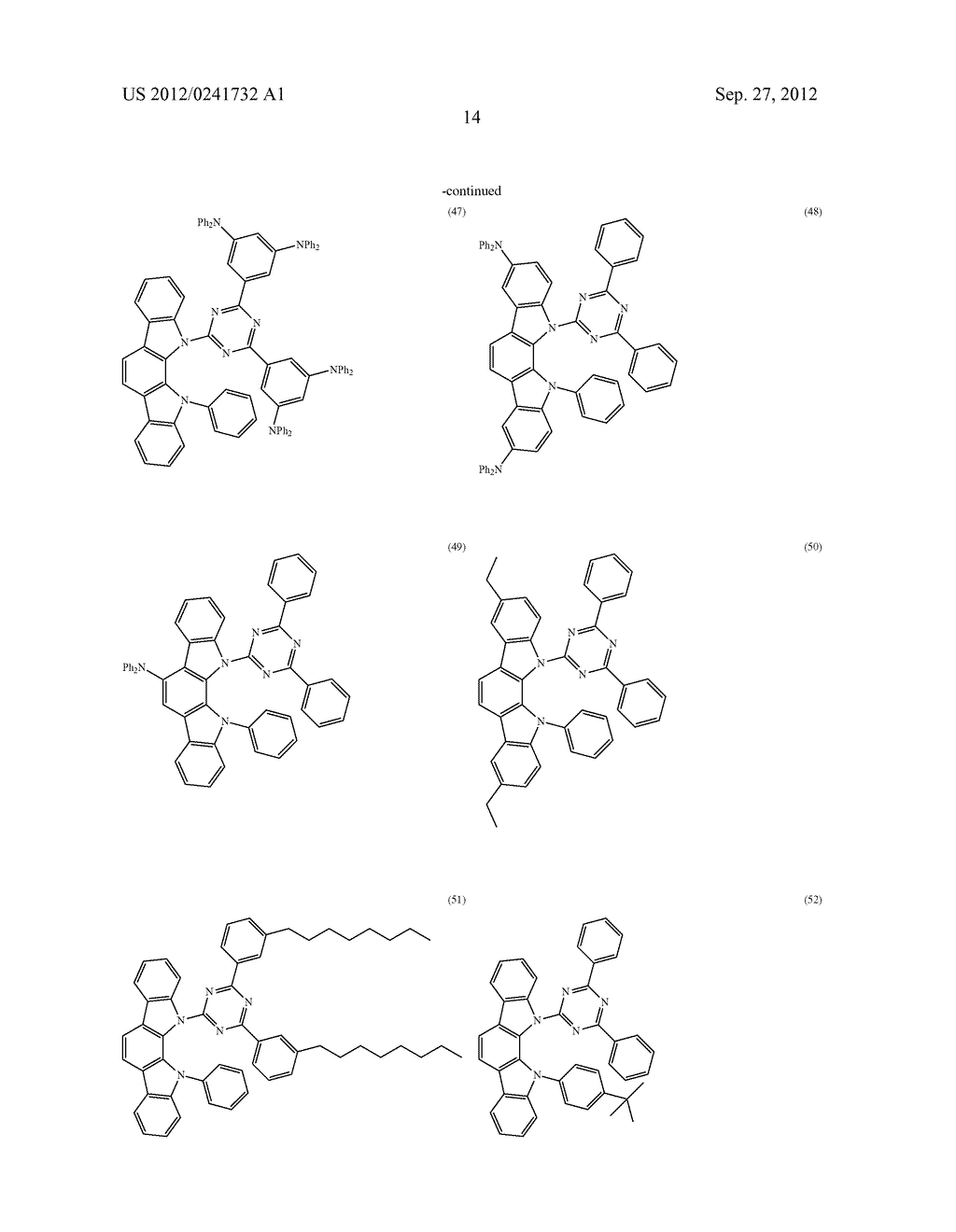 ORGANIC LIGHT-EMITTING MATERIAL AND ORGANIC LIGHT-EMITTING ELEMENT - diagram, schematic, and image 16