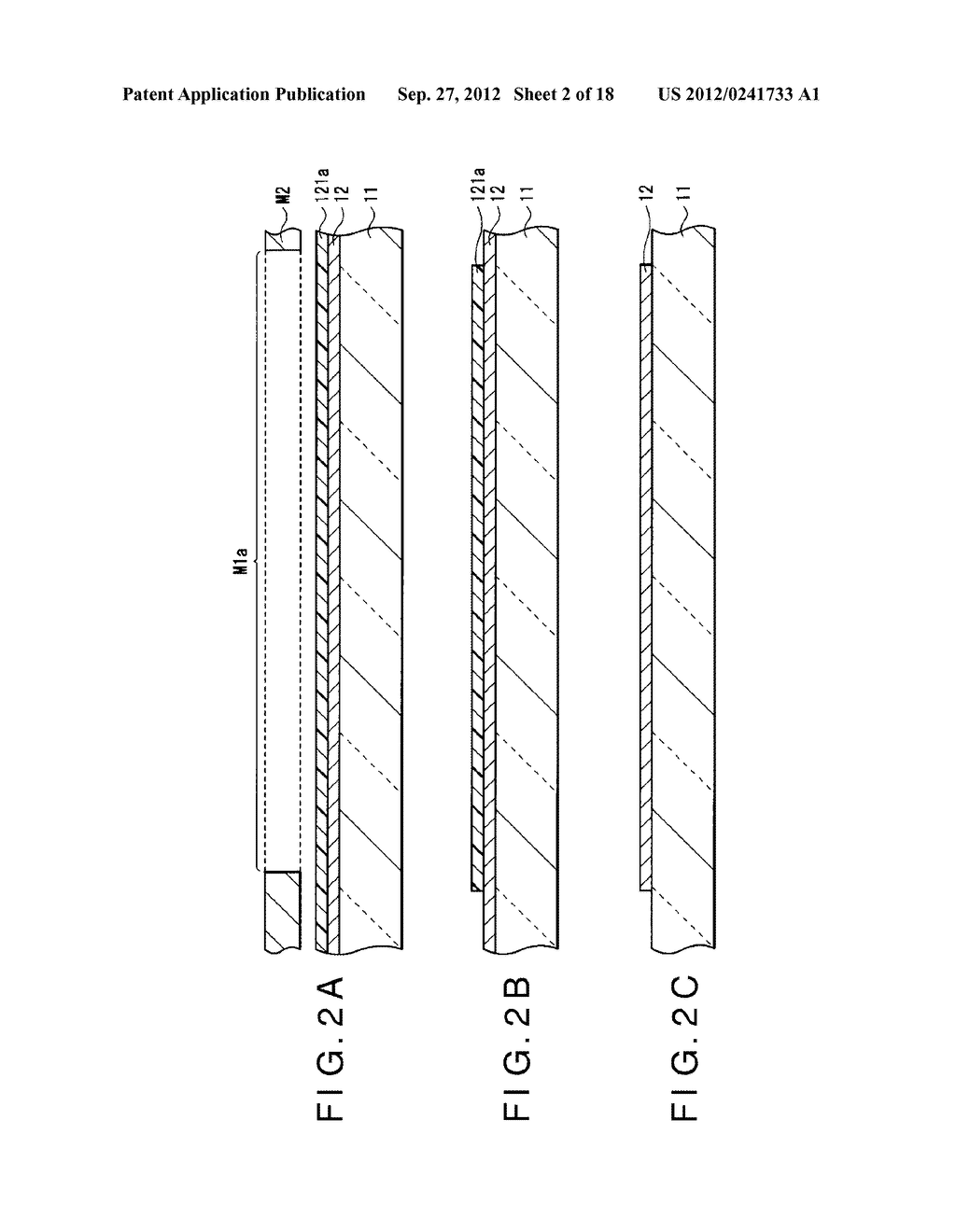 DISPLAY DEVICE, MANUFACTURING METHOD OF THE SAME AND ELECTRONIC EQUIPMENT     HAVING THE SAME - diagram, schematic, and image 03