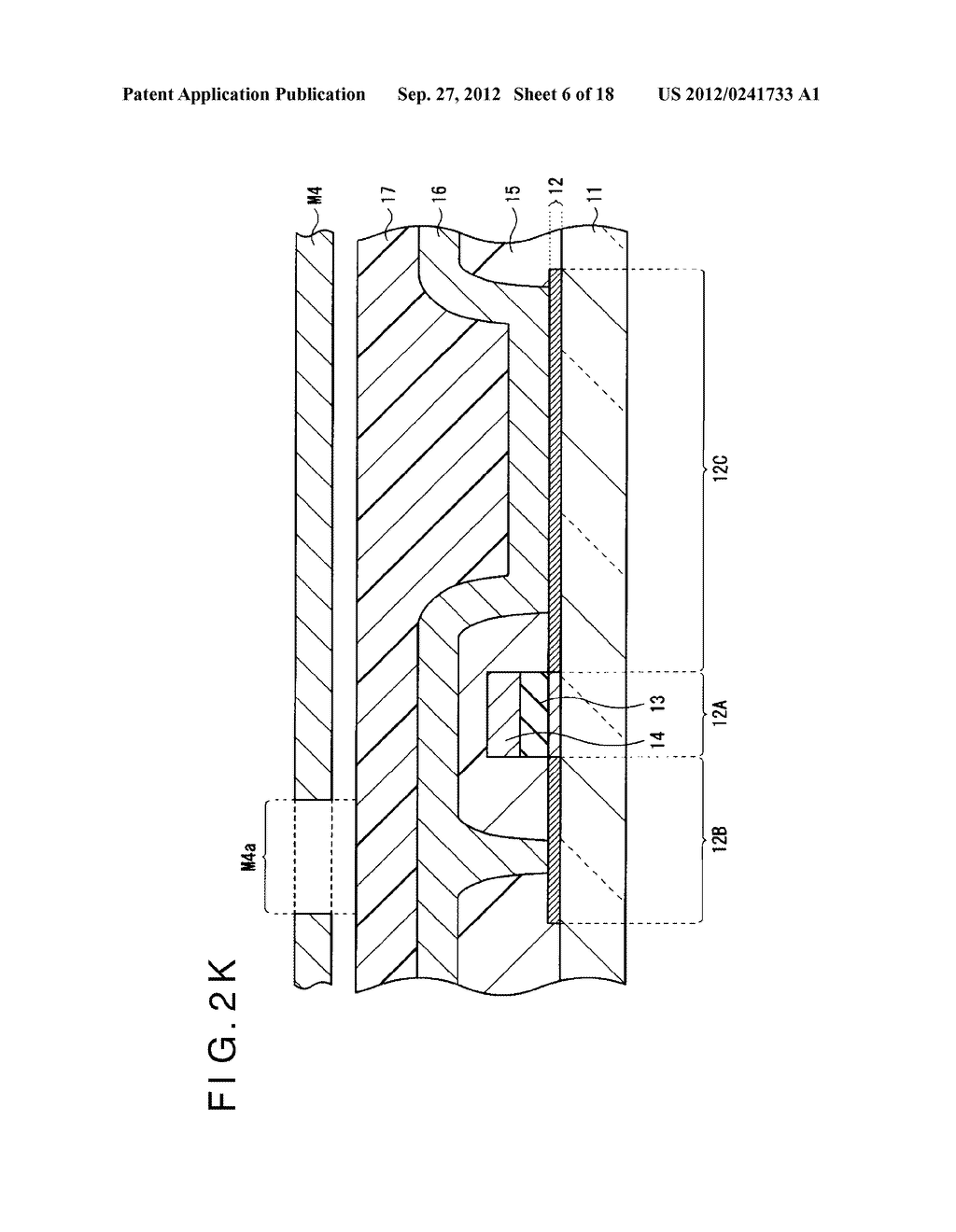 DISPLAY DEVICE, MANUFACTURING METHOD OF THE SAME AND ELECTRONIC EQUIPMENT     HAVING THE SAME - diagram, schematic, and image 07