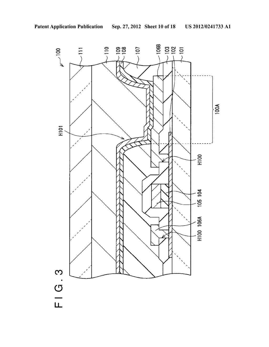DISPLAY DEVICE, MANUFACTURING METHOD OF THE SAME AND ELECTRONIC EQUIPMENT     HAVING THE SAME - diagram, schematic, and image 11