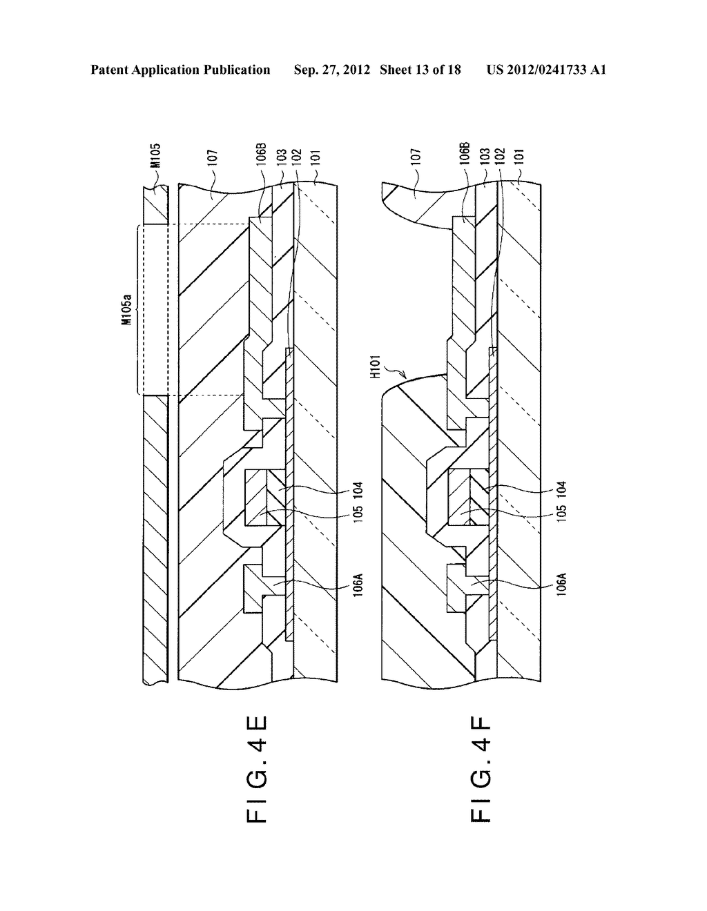 DISPLAY DEVICE, MANUFACTURING METHOD OF THE SAME AND ELECTRONIC EQUIPMENT     HAVING THE SAME - diagram, schematic, and image 14