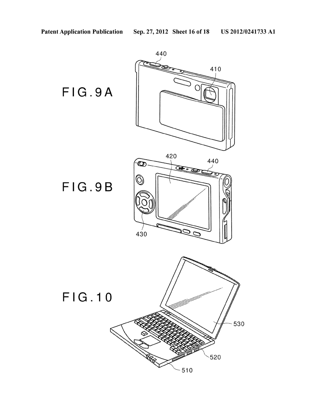 DISPLAY DEVICE, MANUFACTURING METHOD OF THE SAME AND ELECTRONIC EQUIPMENT     HAVING THE SAME - diagram, schematic, and image 17