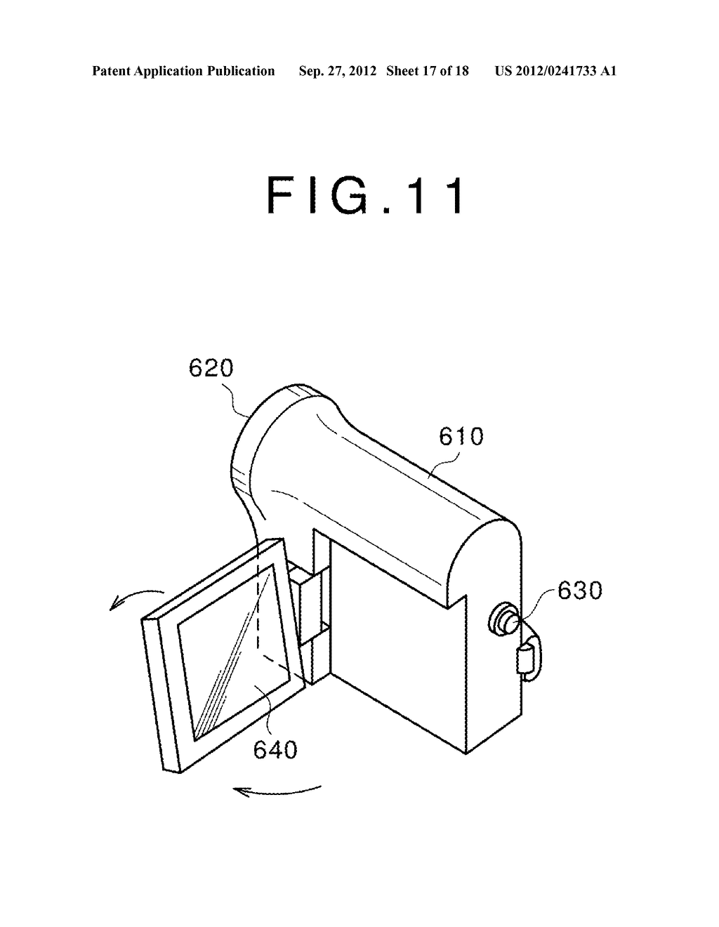 DISPLAY DEVICE, MANUFACTURING METHOD OF THE SAME AND ELECTRONIC EQUIPMENT     HAVING THE SAME - diagram, schematic, and image 18
