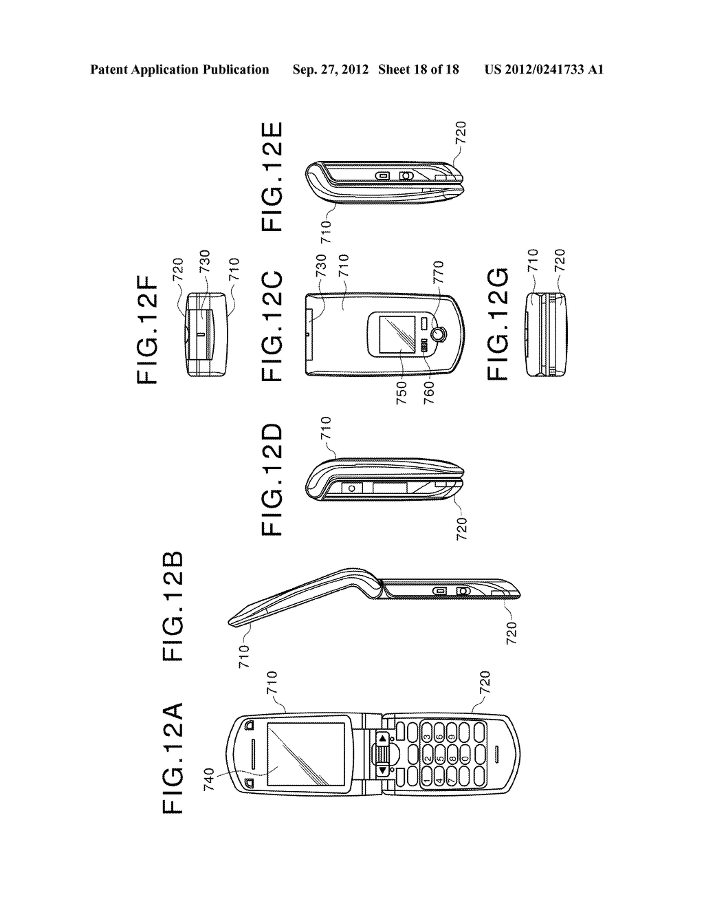 DISPLAY DEVICE, MANUFACTURING METHOD OF THE SAME AND ELECTRONIC EQUIPMENT     HAVING THE SAME - diagram, schematic, and image 19