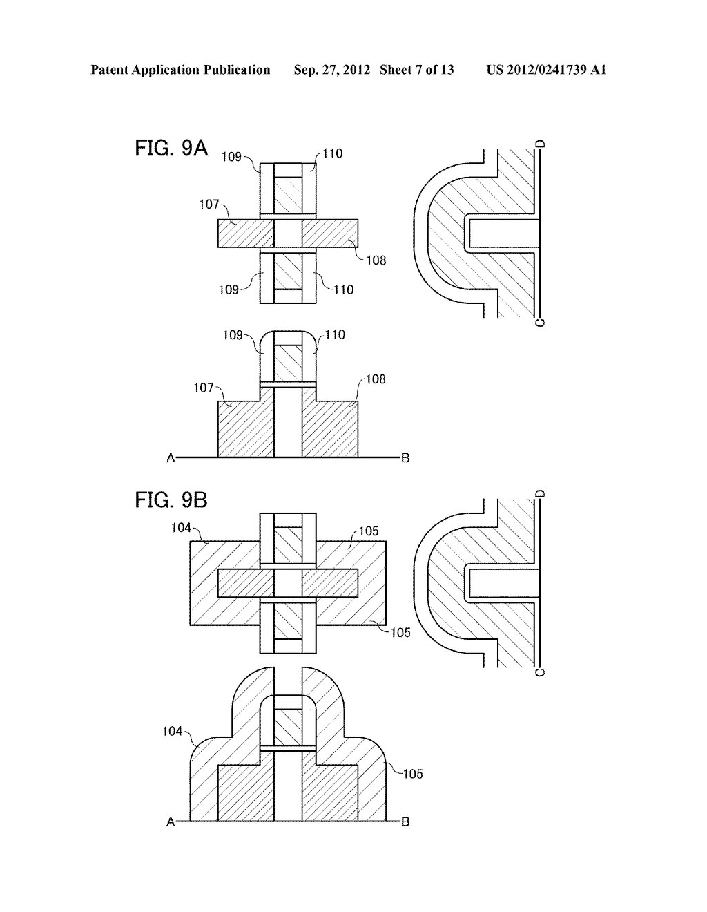 FIELD-EFFECT TRANSISTOR, AND MEMORY AND SEMICONDUCTOR CIRCUIT INCLUDING     THE SAME - diagram, schematic, and image 08