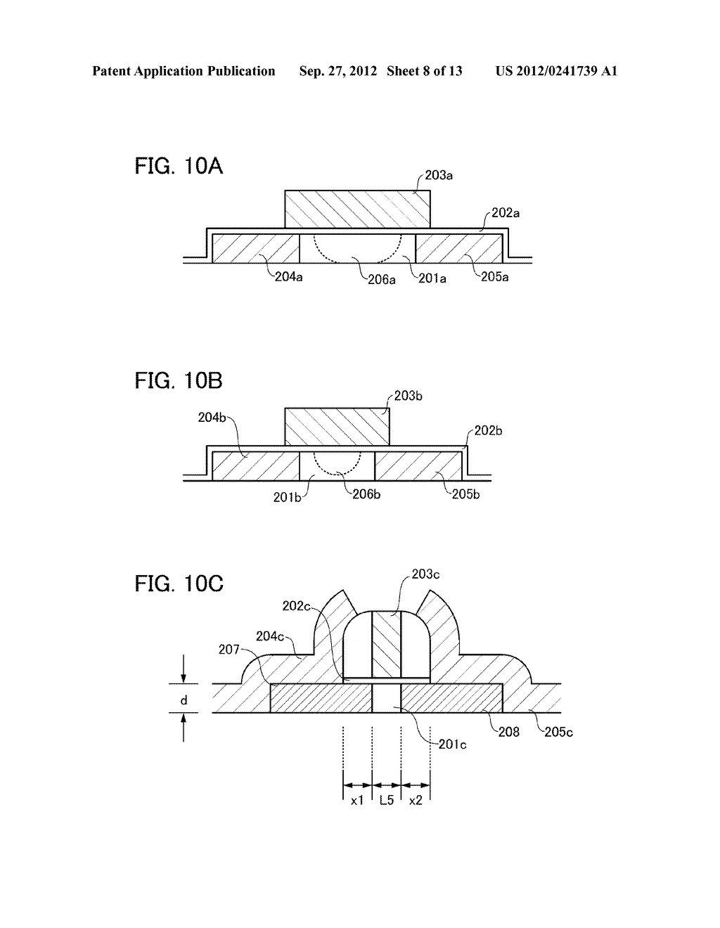 FIELD-EFFECT TRANSISTOR, AND MEMORY AND SEMICONDUCTOR CIRCUIT INCLUDING     THE SAME - diagram, schematic, and image 09