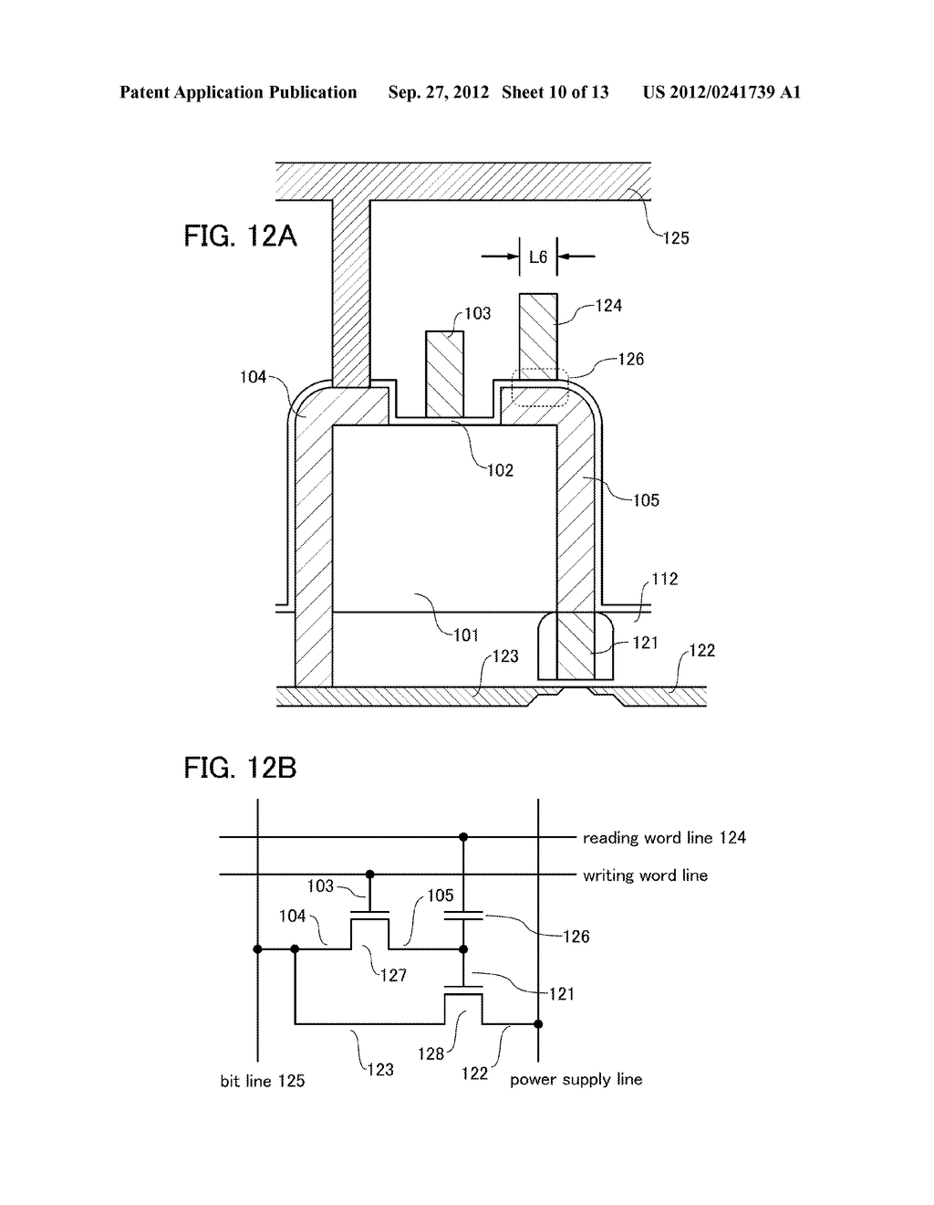 FIELD-EFFECT TRANSISTOR, AND MEMORY AND SEMICONDUCTOR CIRCUIT INCLUDING     THE SAME - diagram, schematic, and image 11