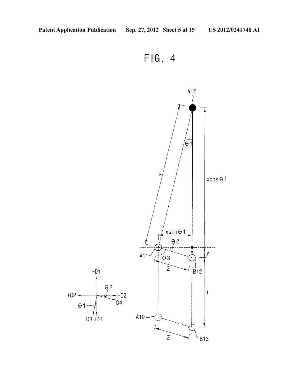 METHOD OF FORMING A PHOTOSENSITIVE PATTERN, METHOD OF MANUFACTURING A     DISPLAY SUBSTRATE, AND DISPLAY SUBSTRATE - diagram, schematic, and image 06