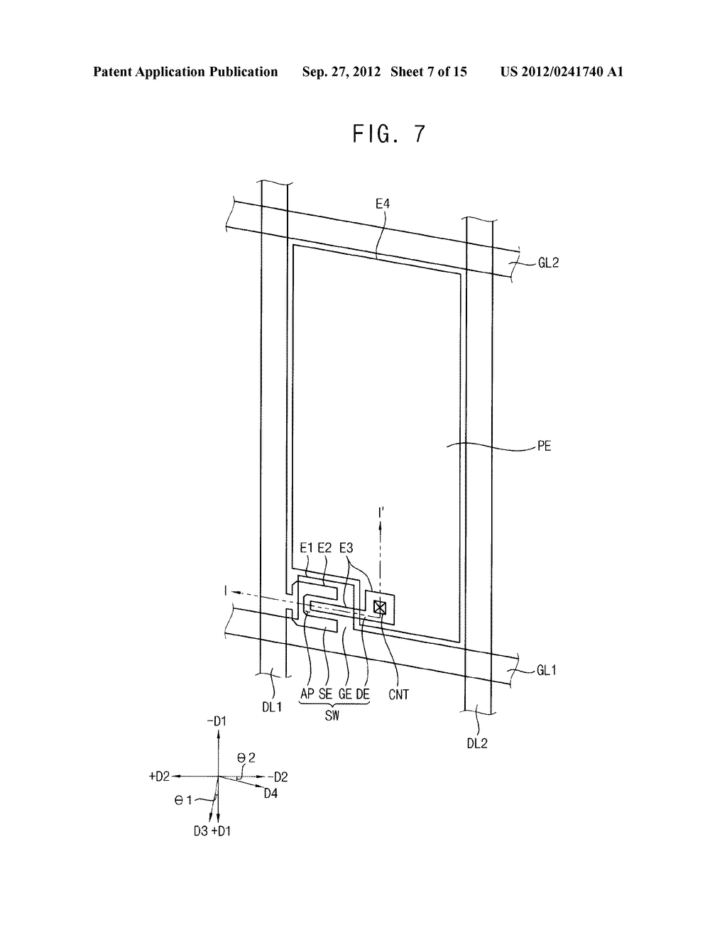 METHOD OF FORMING A PHOTOSENSITIVE PATTERN, METHOD OF MANUFACTURING A     DISPLAY SUBSTRATE, AND DISPLAY SUBSTRATE - diagram, schematic, and image 08
