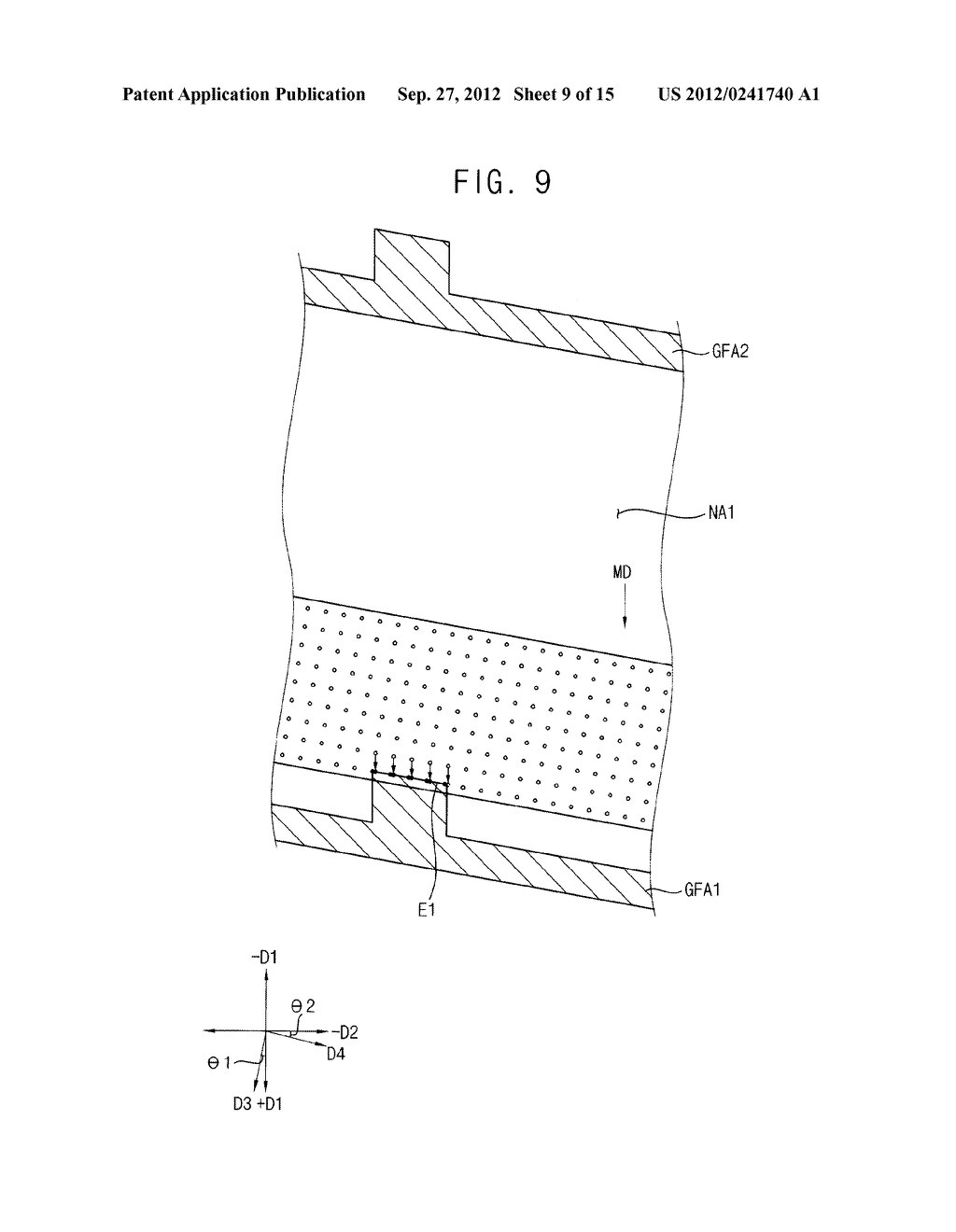 METHOD OF FORMING A PHOTOSENSITIVE PATTERN, METHOD OF MANUFACTURING A     DISPLAY SUBSTRATE, AND DISPLAY SUBSTRATE - diagram, schematic, and image 10