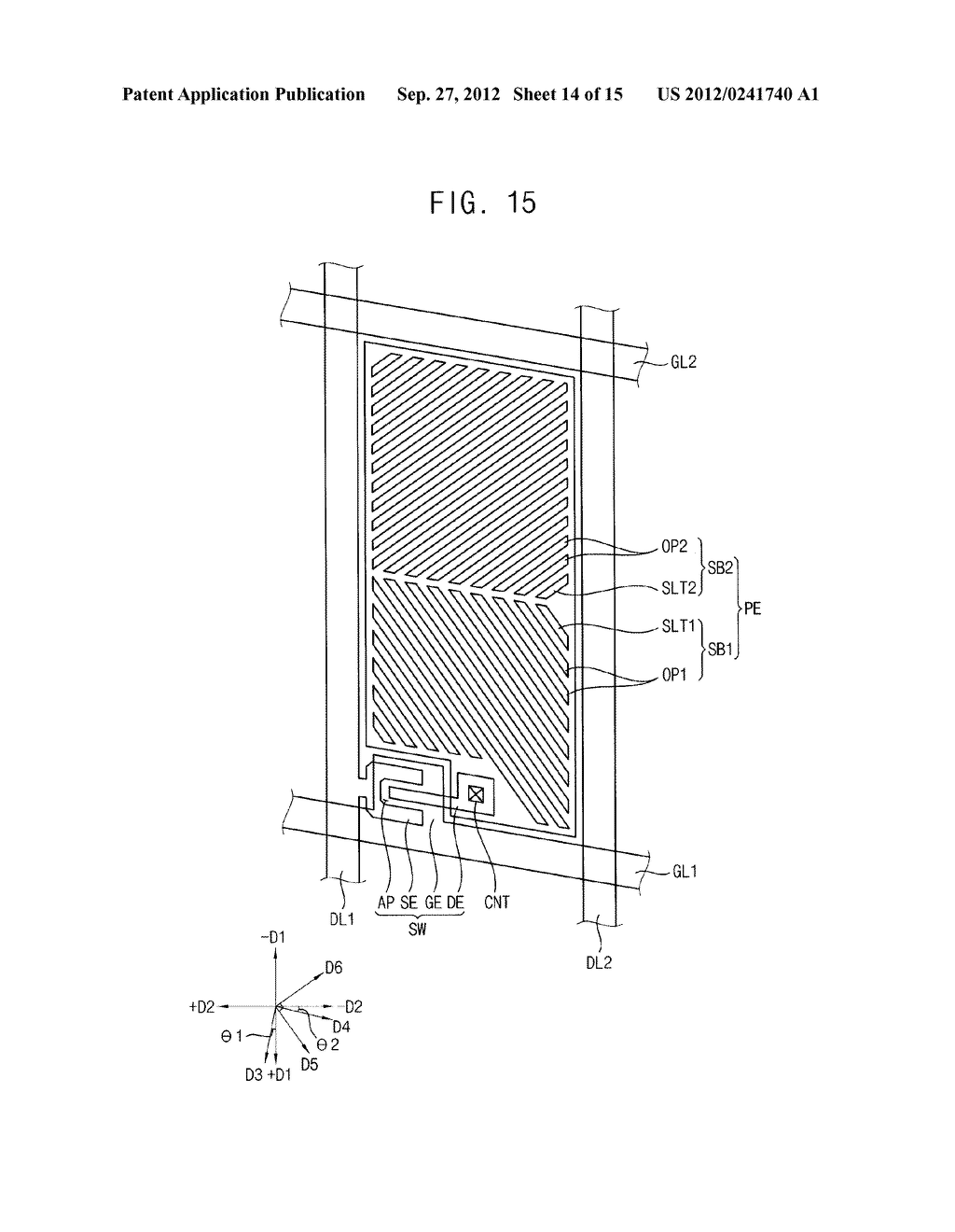 METHOD OF FORMING A PHOTOSENSITIVE PATTERN, METHOD OF MANUFACTURING A     DISPLAY SUBSTRATE, AND DISPLAY SUBSTRATE - diagram, schematic, and image 15