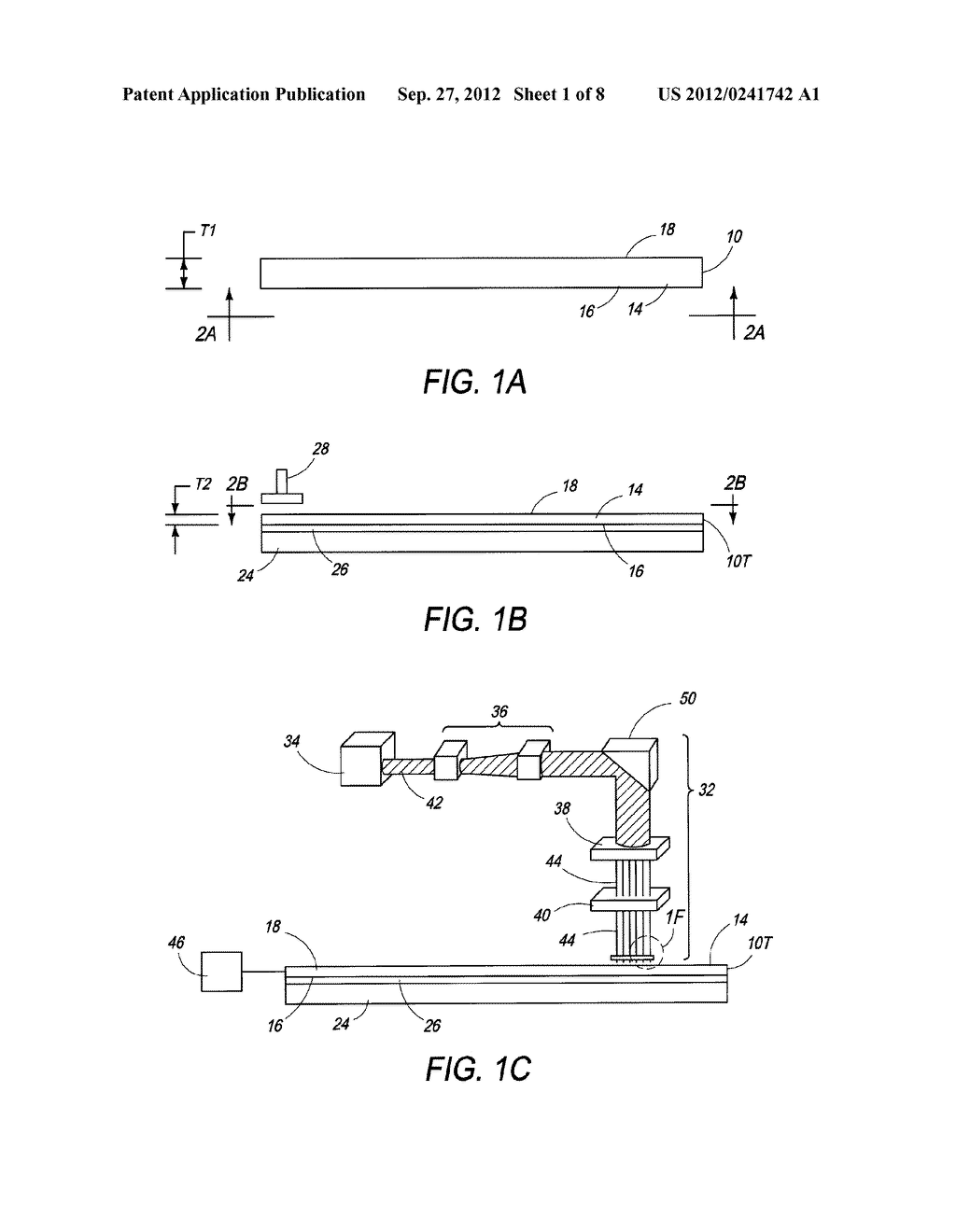 THINNED SEMICONDUCTOR COMPONENTS HAVING LASERED FEATURES AND METHOD OF     FABRICATION - diagram, schematic, and image 02
