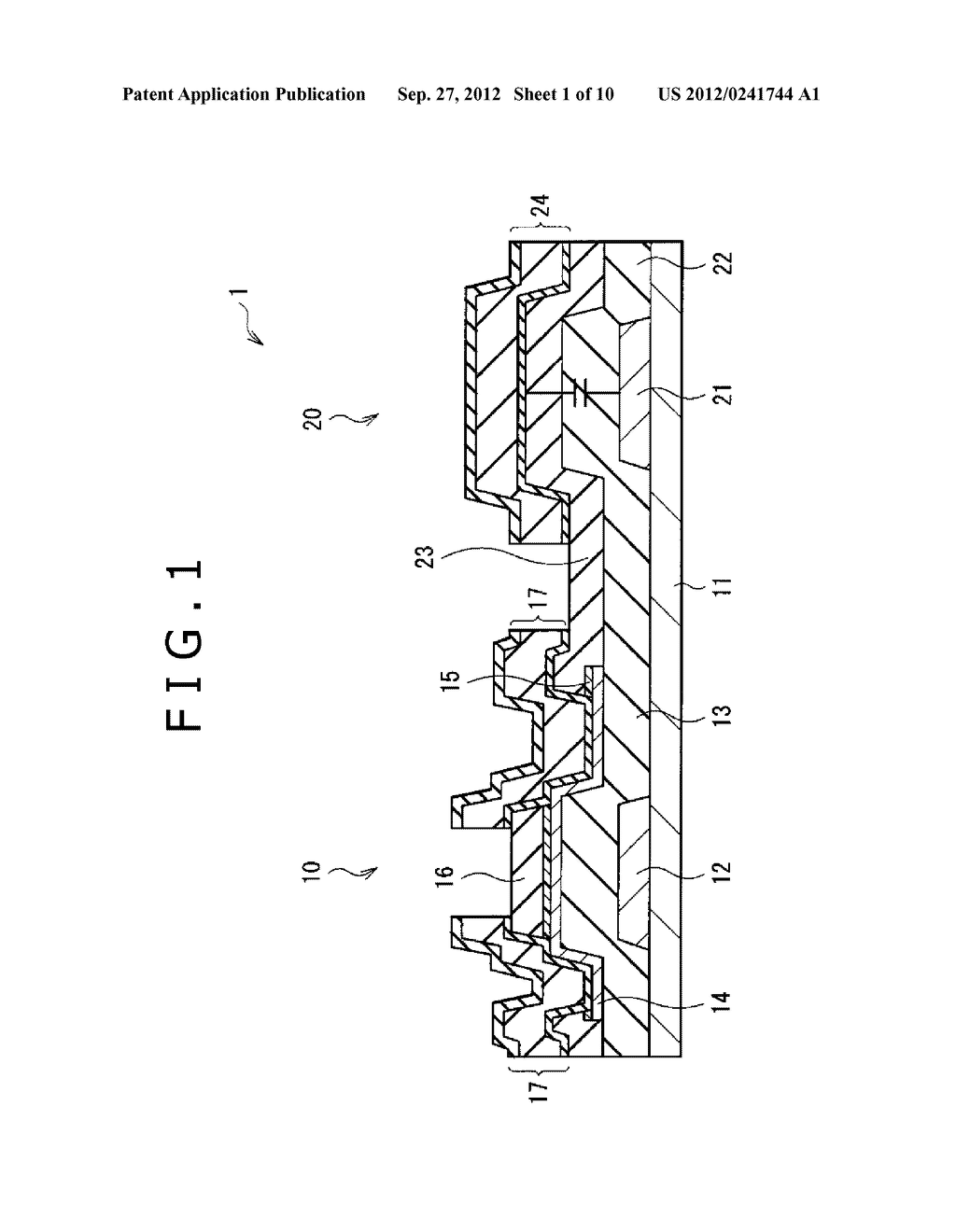 DISPLAY APPARATUS AND METHOD OF MANUFACTURING THE SAME - diagram, schematic, and image 02
