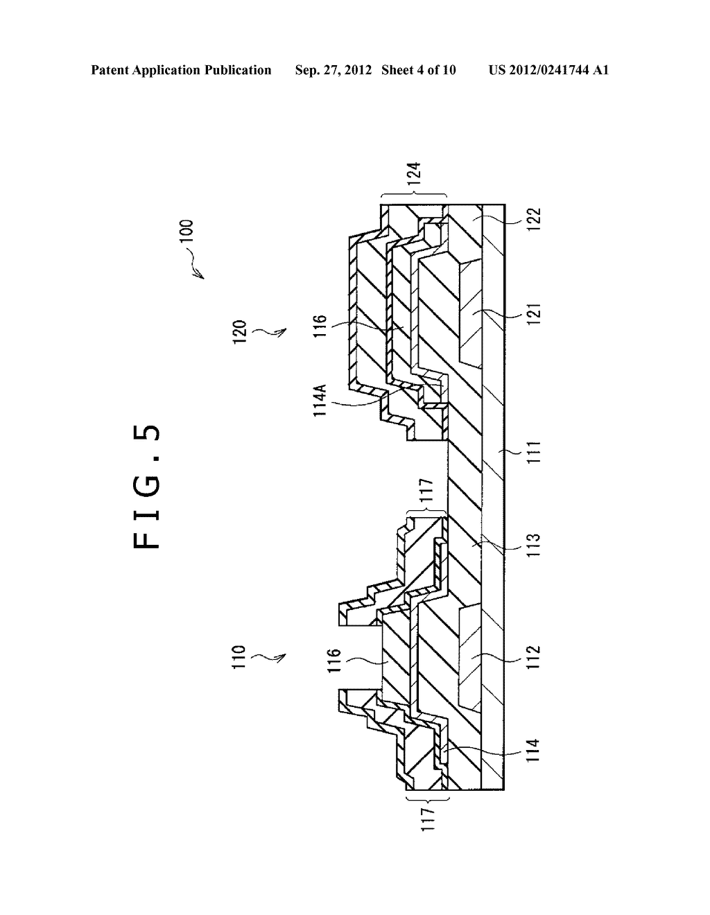 DISPLAY APPARATUS AND METHOD OF MANUFACTURING THE SAME - diagram, schematic, and image 05