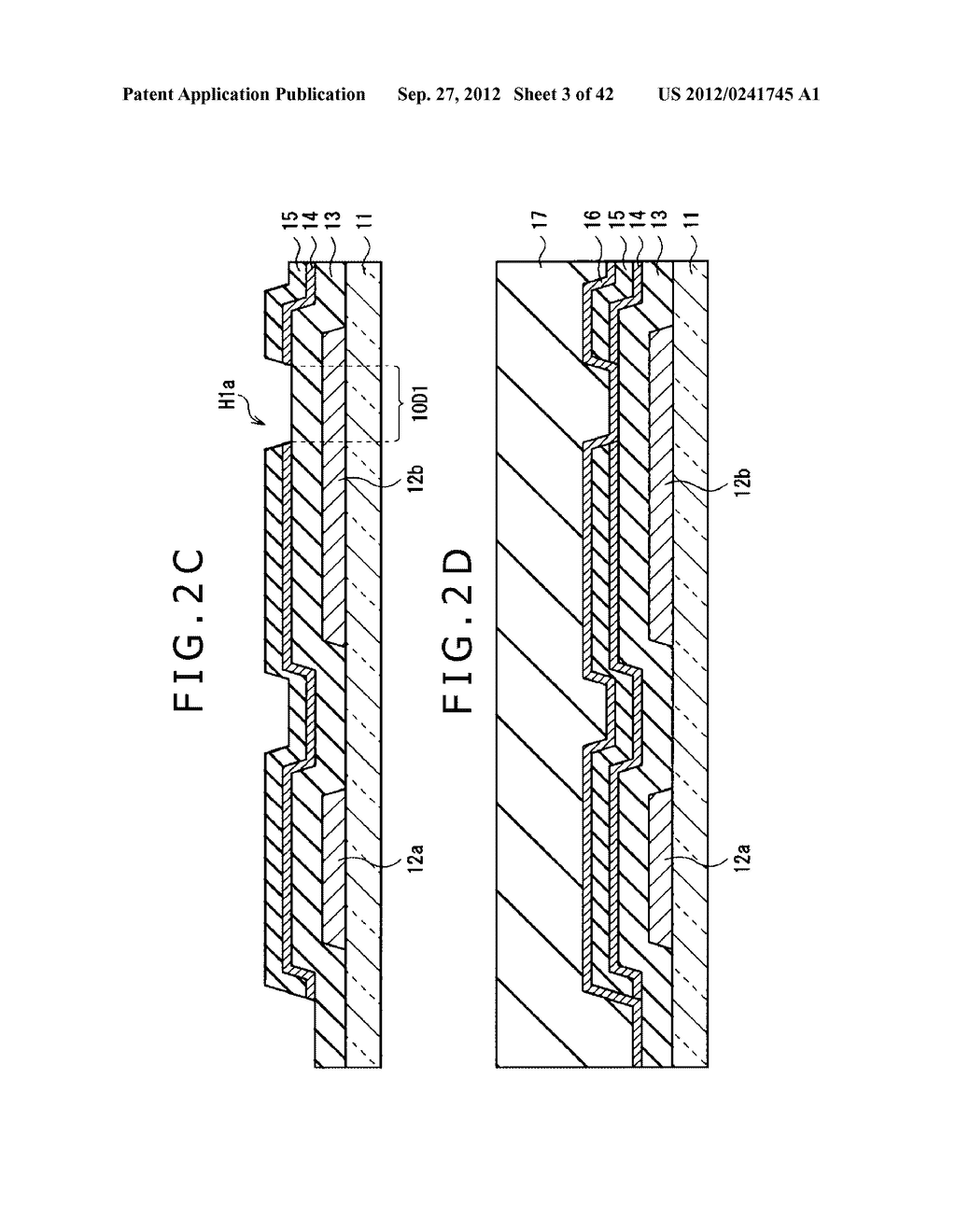 DISPLAY DEVICE, MANUFACTURING METHOD OF DISPLAY DEVICE AND ELECTRONIC     EQUIPMENT - diagram, schematic, and image 04