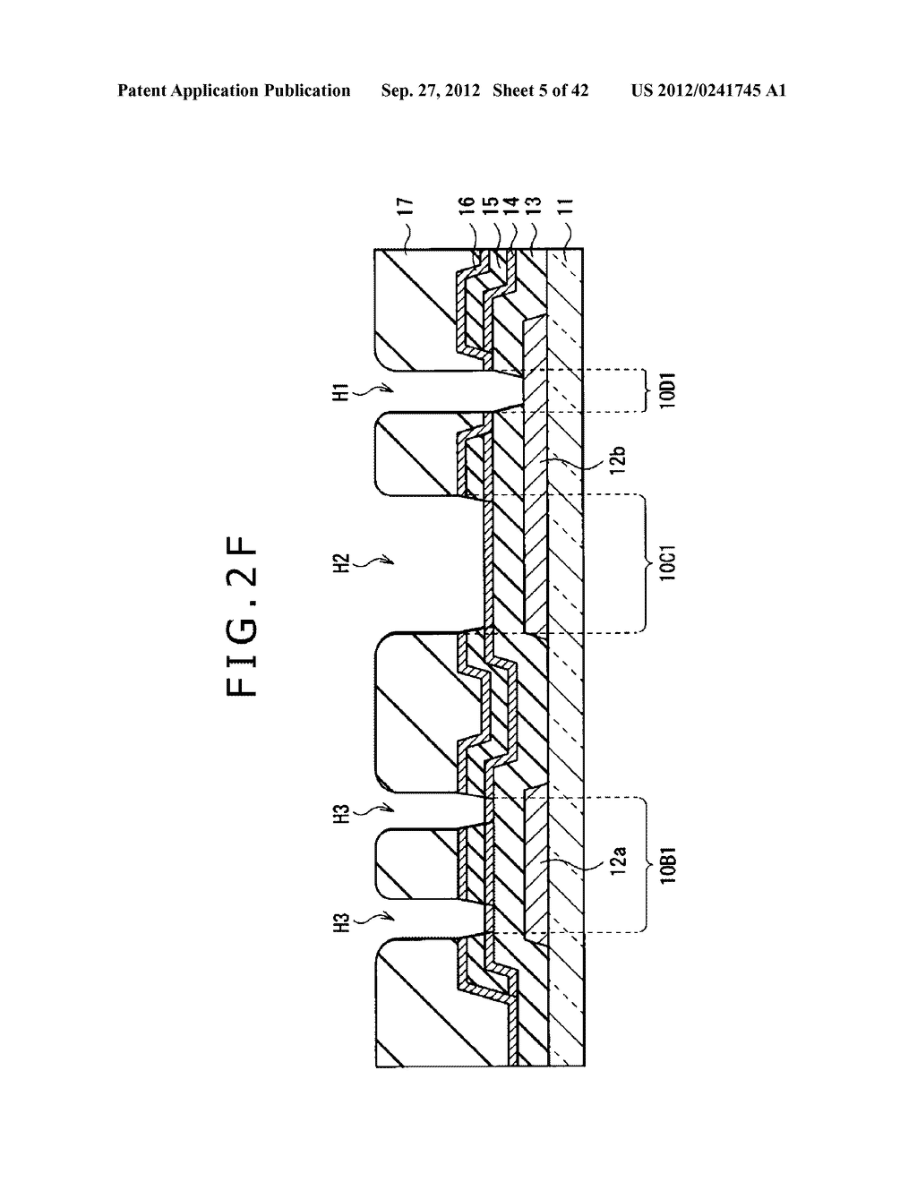DISPLAY DEVICE, MANUFACTURING METHOD OF DISPLAY DEVICE AND ELECTRONIC     EQUIPMENT - diagram, schematic, and image 06