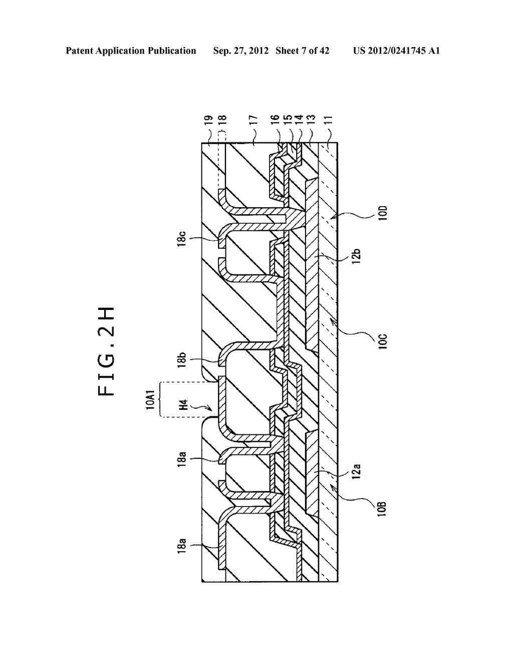DISPLAY DEVICE, MANUFACTURING METHOD OF DISPLAY DEVICE AND ELECTRONIC     EQUIPMENT - diagram, schematic, and image 08