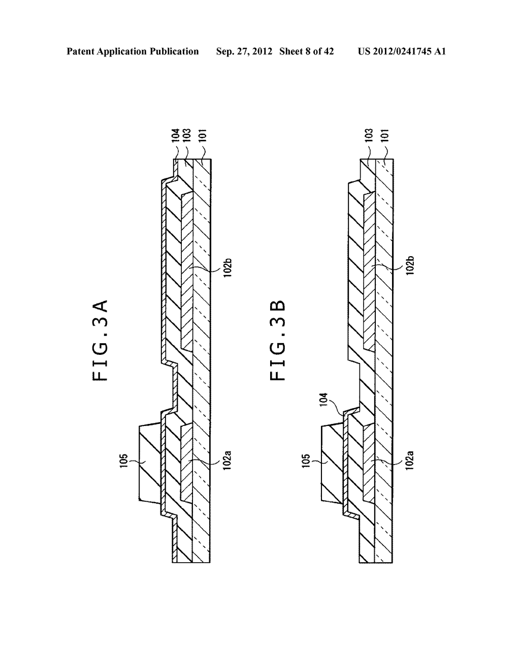 DISPLAY DEVICE, MANUFACTURING METHOD OF DISPLAY DEVICE AND ELECTRONIC     EQUIPMENT - diagram, schematic, and image 09