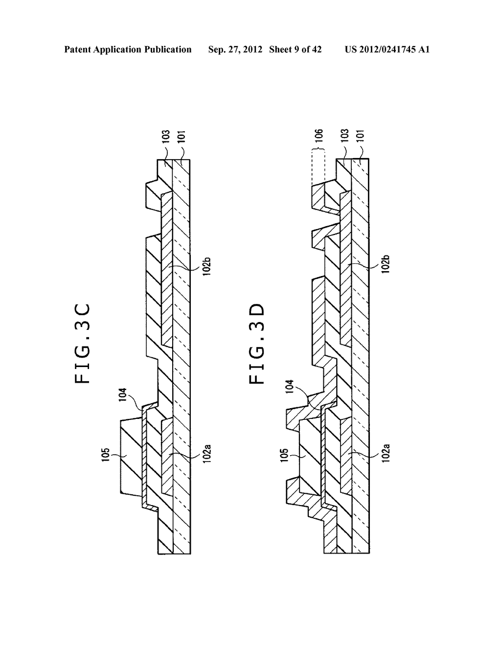 DISPLAY DEVICE, MANUFACTURING METHOD OF DISPLAY DEVICE AND ELECTRONIC     EQUIPMENT - diagram, schematic, and image 10