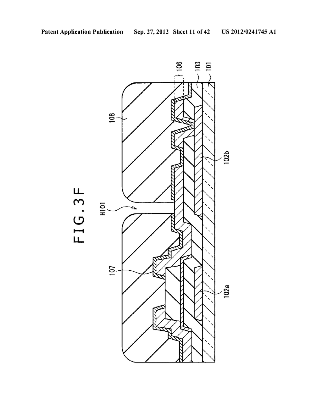 DISPLAY DEVICE, MANUFACTURING METHOD OF DISPLAY DEVICE AND ELECTRONIC     EQUIPMENT - diagram, schematic, and image 12