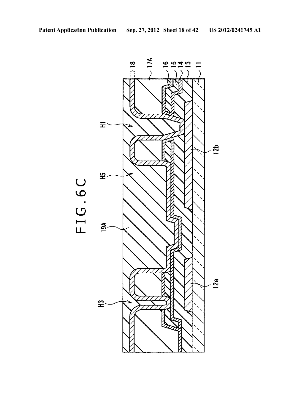 DISPLAY DEVICE, MANUFACTURING METHOD OF DISPLAY DEVICE AND ELECTRONIC     EQUIPMENT - diagram, schematic, and image 19