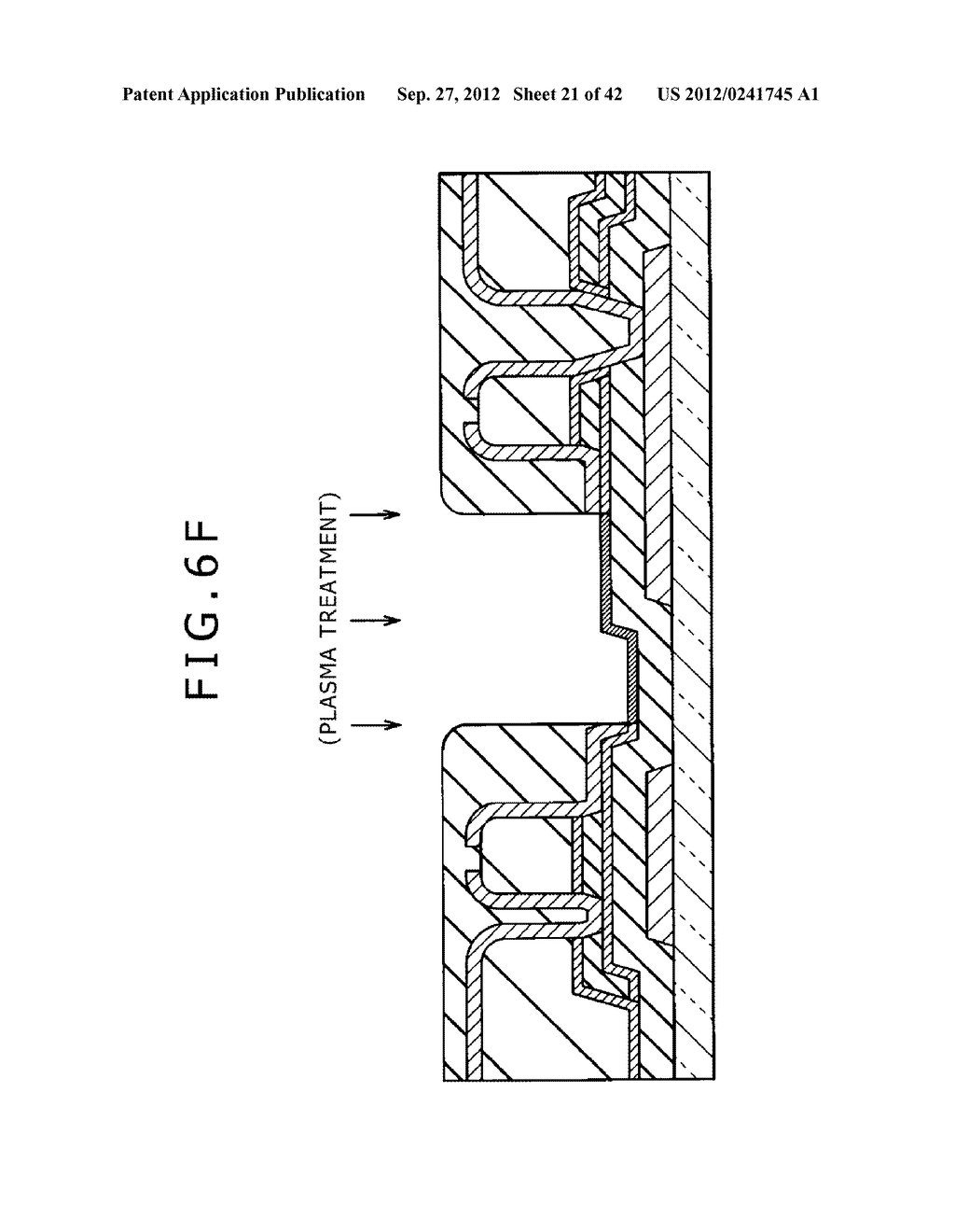 DISPLAY DEVICE, MANUFACTURING METHOD OF DISPLAY DEVICE AND ELECTRONIC     EQUIPMENT - diagram, schematic, and image 22
