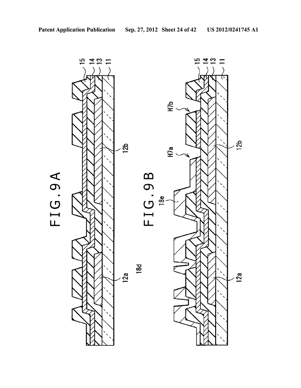 DISPLAY DEVICE, MANUFACTURING METHOD OF DISPLAY DEVICE AND ELECTRONIC     EQUIPMENT - diagram, schematic, and image 25